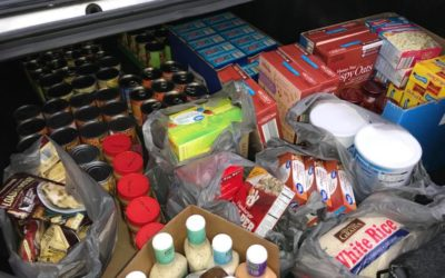 ROI Search Partners Help at Food Pantry