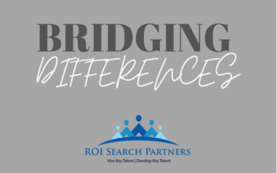 Bridging Differences – Continued Conversation Around Diversity, Equity and Inclusion